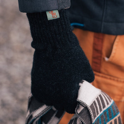 WINTER GLOVES - GLOVES - LAMBSWOOL -  -