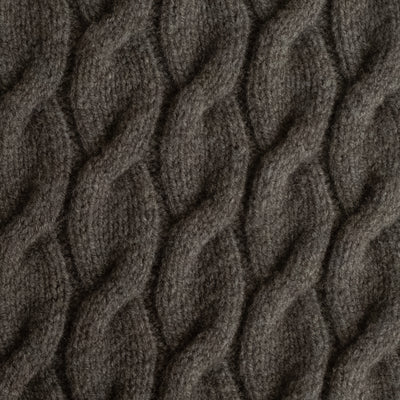 BLANKET - CABLE - XL - Hickory Brown