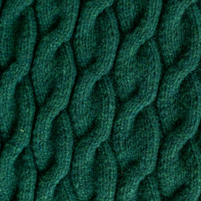 BLANKET - CABLE - XL - Cossack Green
