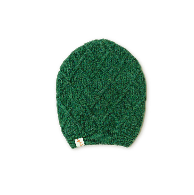 BEANIES - HARMONY -  WINTER HATS - Cossack Green / Main Image -