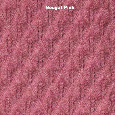 SCARVES - LUCKY - UNISEX SCARVES - Nougat Pink -
