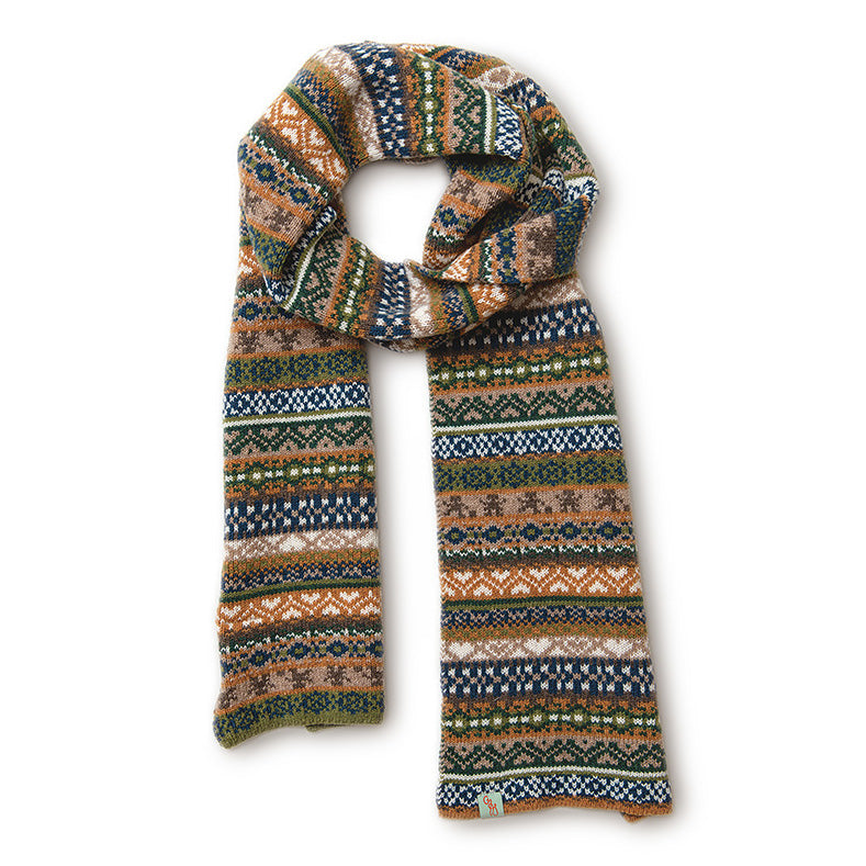 SCARVES - FAIRPLAY - LAMBSWOOL - Marine / Main Image -
