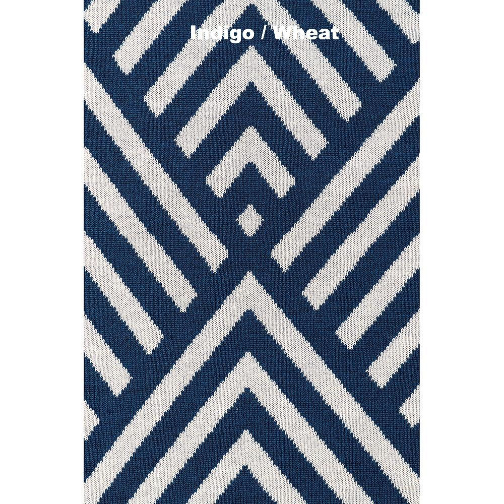 BLANKETS - STRIKE - MERINO - Extra Small - Indigo / Wheat