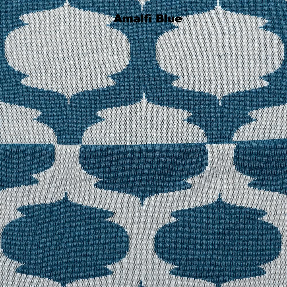 BLANKETS - ALADDIN - THROWS AND BLANKETS - Extra Small - Amalfi Blue