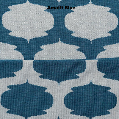THROWS AND BLANKETS - ALADDIN - MERINO - Extra Small - Amalfi Blue