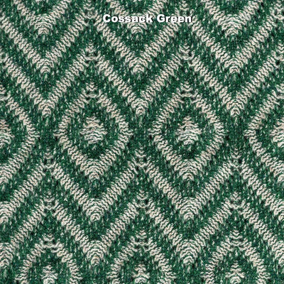 SCARVES - FEATHER - LAMBSWOOL - Cossack Green -