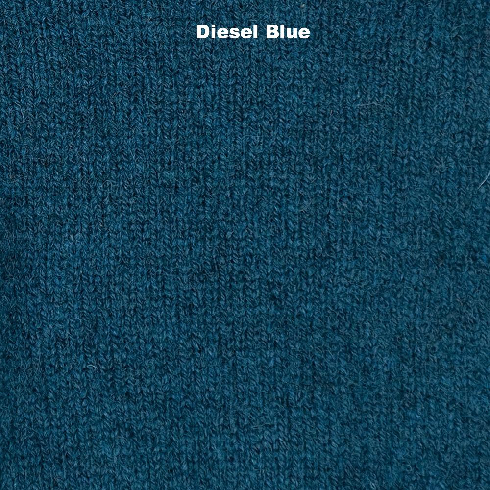 GLOVES - GLOVES - LAMBSWOOL - Diesel Blue -