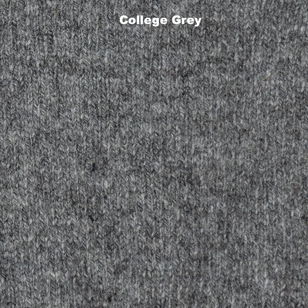 GLOVES - FAGINS -  FINGERLESS GLOVES LAMBSWOOL - College Grey -
