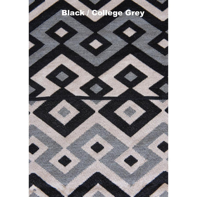 BLANKETS - JIGGLE - WOOL BLANKETS - Extra Small - Black / College Grey