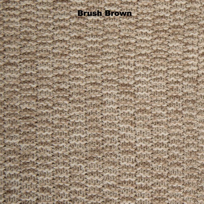 SCARVES - MUMBO JUMBO -  LAMBSWOOL - Brush Brown -