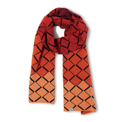 SCARVES - TIP TOE - WOOL SCARVES - Auburn / Main Image -