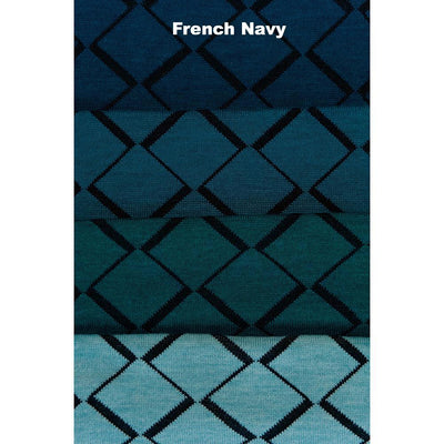 SCARVES - TIP TOE - WOOL SCARVES - French Navy -