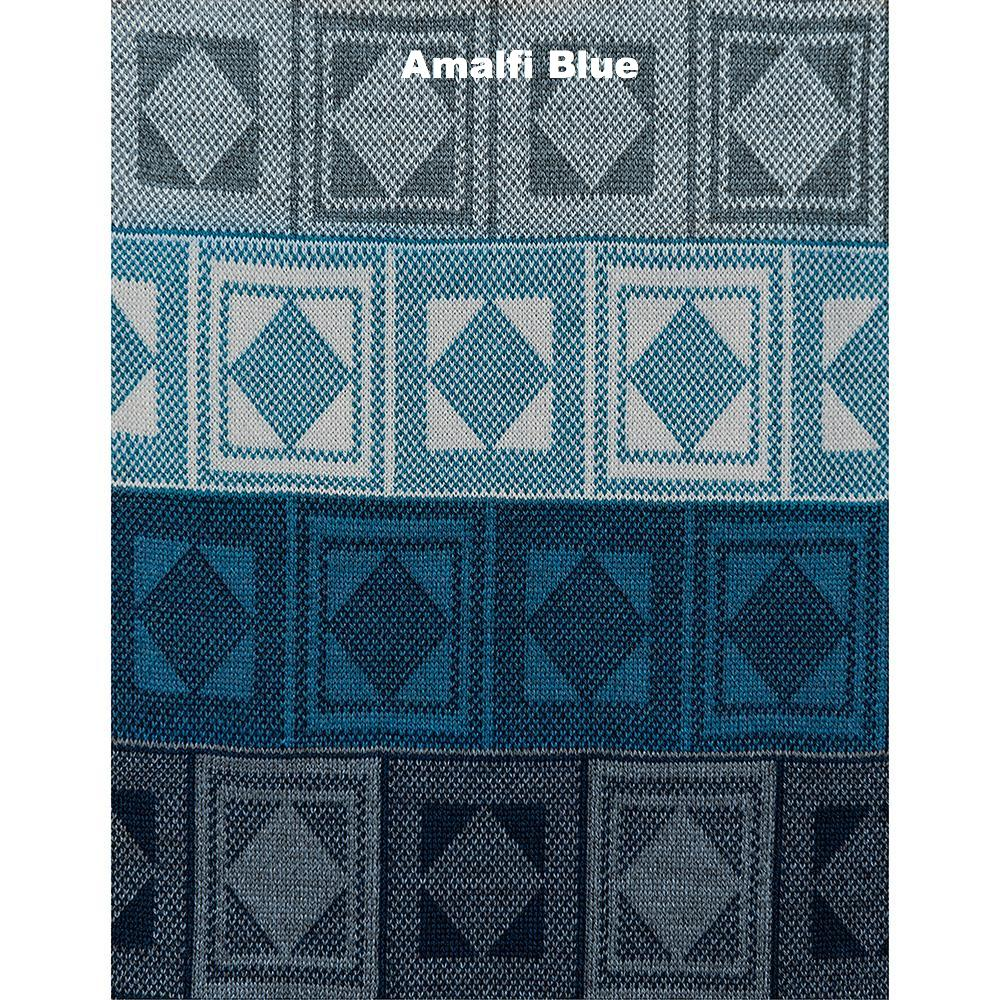 SCARVES - RUMMY - WOOL SCARVES - Amalfi Blue -