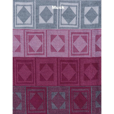 SCARVES - RUMMY - WOOL SCARVES - Musk -