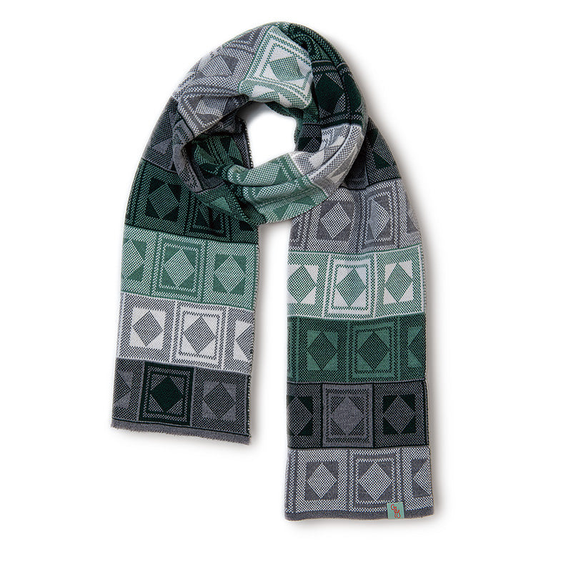 SCARVES - RUMMY - WOOL SCARVES - Tarragon / Main Image -