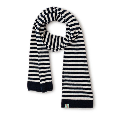 SCARVES - FLEMMING - LAMBSWOOL - Navy / Main Image -