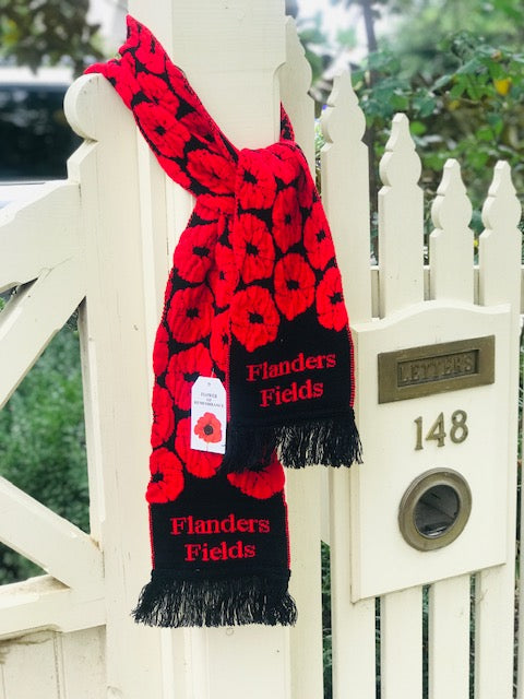 SCARVES -  FLANDERS FIELDS SCARF -  -