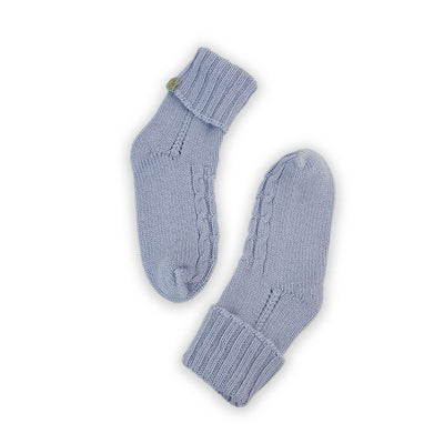 HOMIE'S  - HOUSE SOCKS - BEANIES FOR YOUR FEET - Small - Medium - Baby Blue