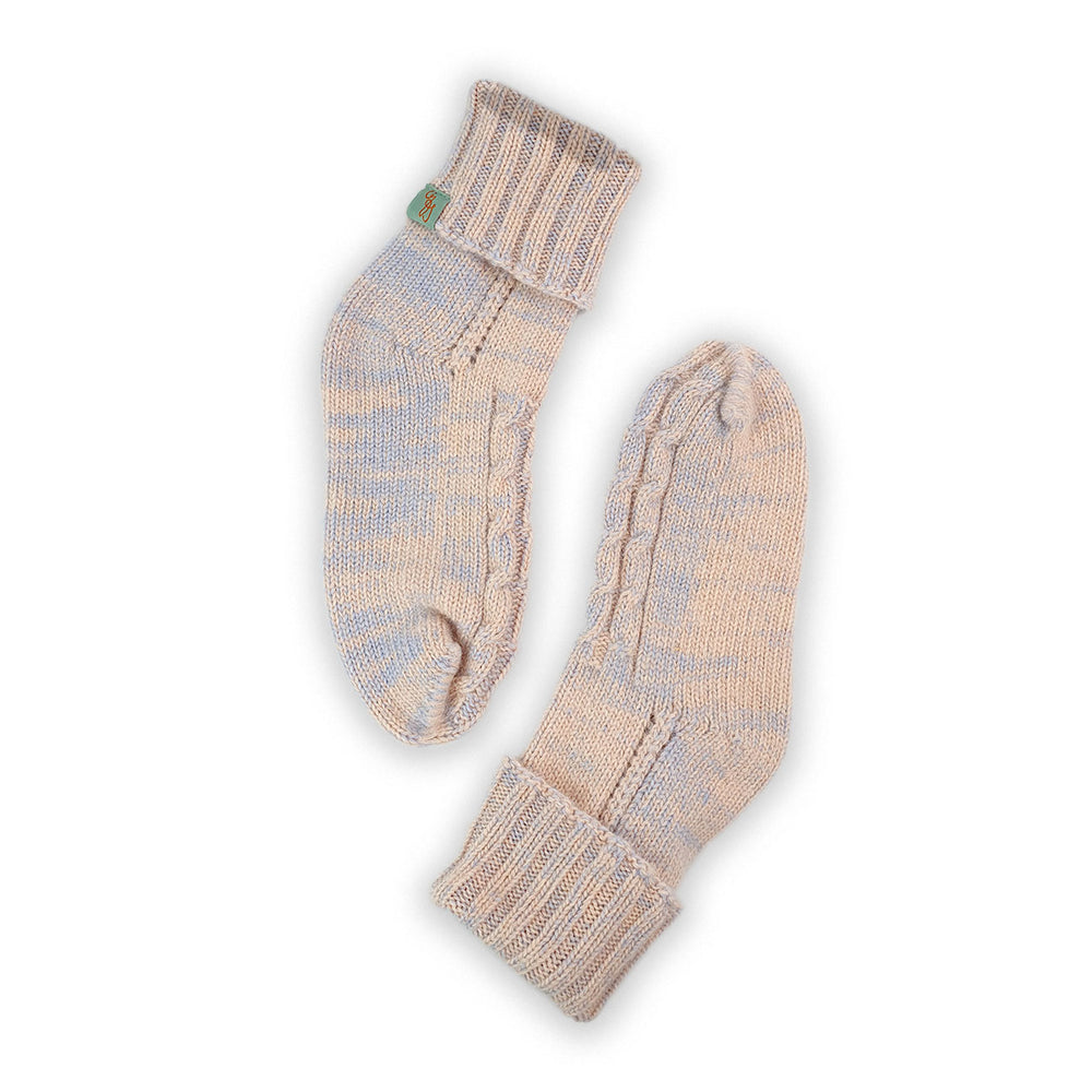 HOMIE'S  - HOUSE SOCKS - BEANIES FOR YOUR FEET - Small - Medium - Fairy Floss