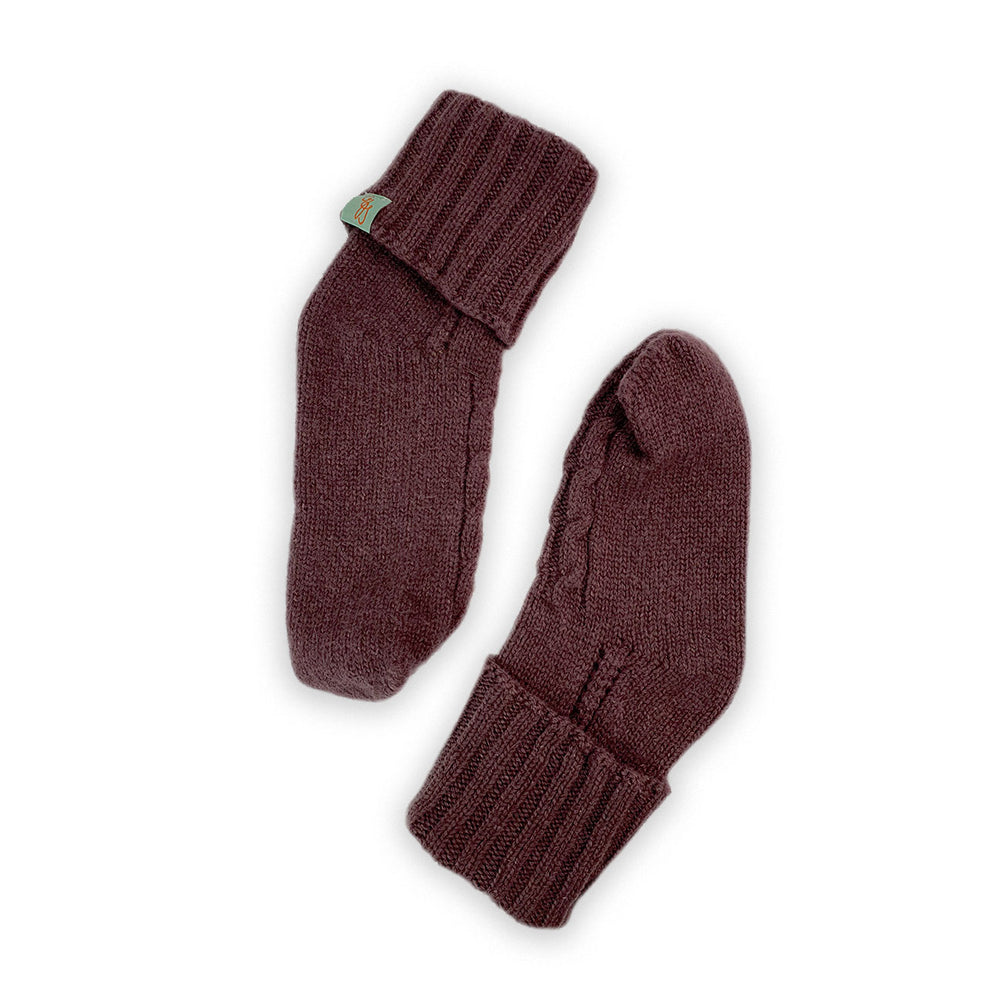 HOMIE'S  - HOUSE SOCKS - BEANIES FOR YOUR FEET - Small - Medium - Grape