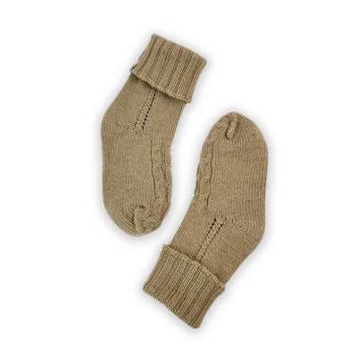 HOMIE'S  - HOUSE SOCKS - BEANIES FOR YOUR FEET - Small - Medium - Khaki