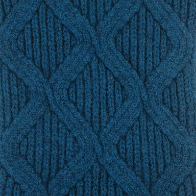 SCARVES - MERGE - LAMBSWOOL - Diesel Blue -