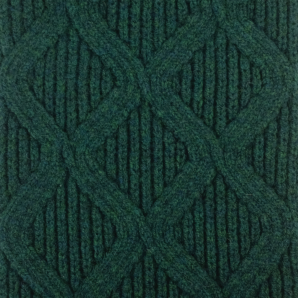SCARVES - MERGE - LAMBSWOOL - Cossack Green -