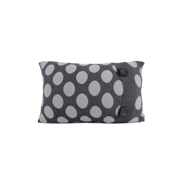 CUSHIONS COVER - BRAD CUSHIONS - MERINO - Charcoal - Breakfast