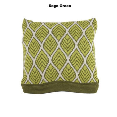 CUSHIONS COVER - DAEDALUS CUSHIONS - MERINO - Sage Green Medium - Breakfast