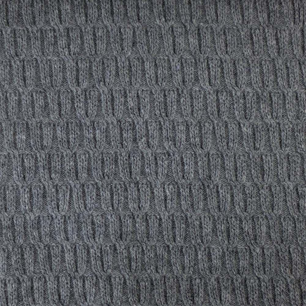 SCARVES - POD - LAMBSWOOL - College Grey -