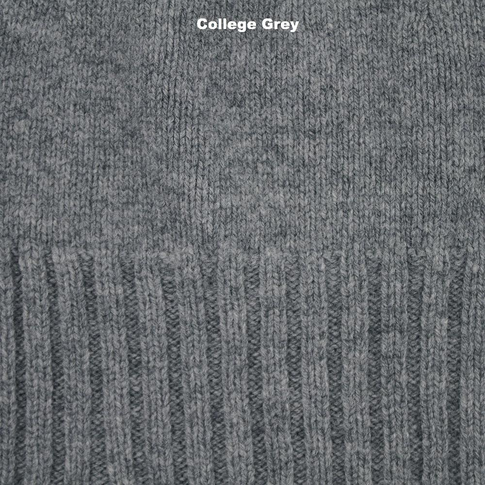 BEANIES - PIXIE - LAMBSWOOL - College Grey -