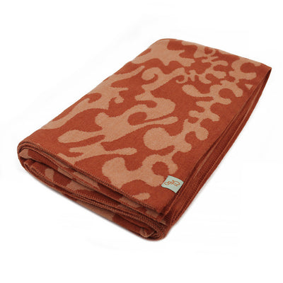 BLANKETS - RORSCHACH - THROWS AND BLANKETS - Cinnamon / Main Image - Extra Small