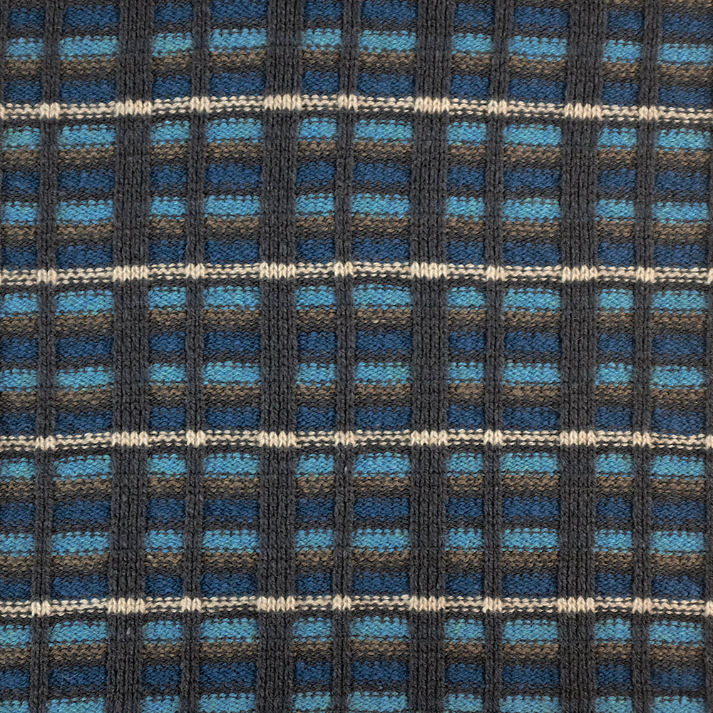 PONCHO - STRAIGHT AND NARROW - Barracuda Blue -