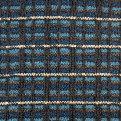 SCARVES - STRAIGHT AND  NARROW - Barracuda Blue -