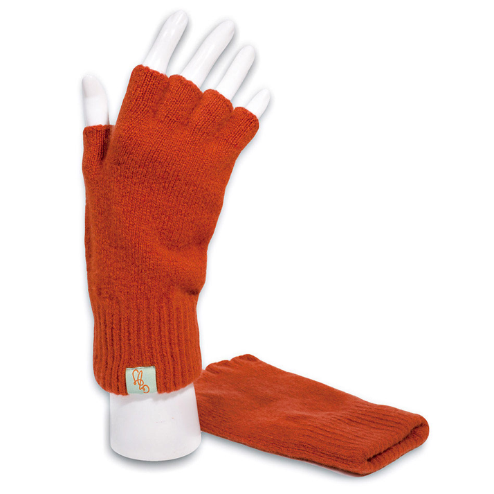 GLOVES - FAGINS - LAMBSWOOL - Ember / Main Image -