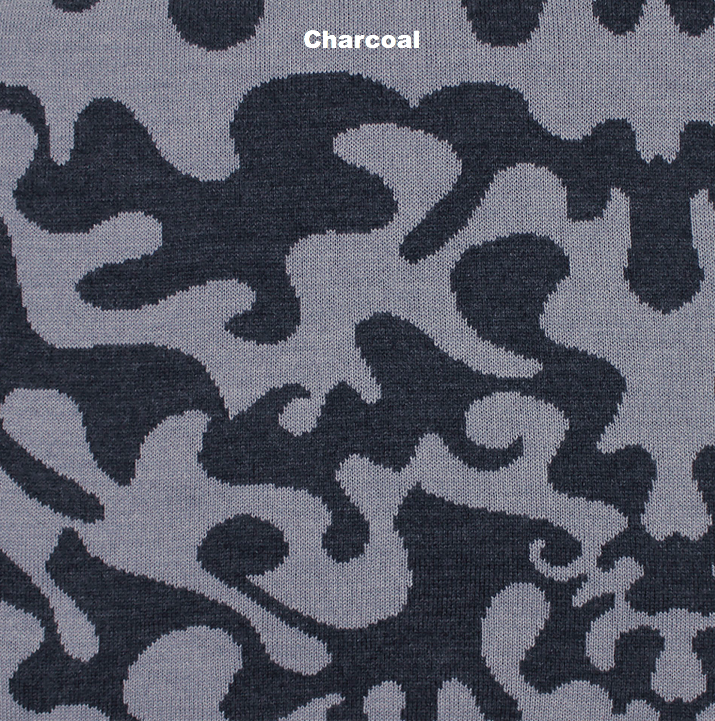 BLANKETS - RORSCHACH - THROWS AND BLANKETS - Charcoal - Extra Small