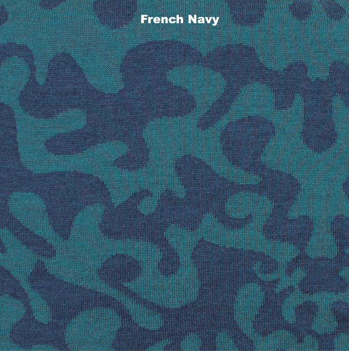 BLANKETS - RORSCHACH - THROWS AND BLANKETS - French Navy - Extra Small