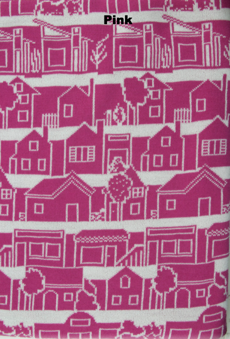 BLANKETS - NEIGHBOURHOOD - THROWS & BLANKETS - Pink - Extra Small