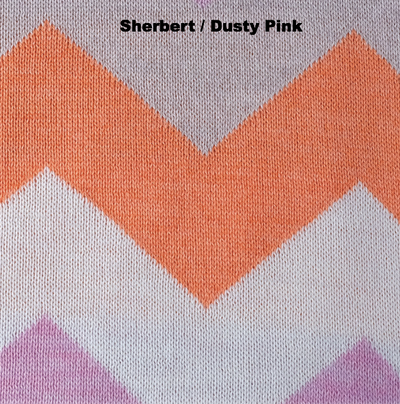 BLANKETS - WINGDINGS - MERINO WOOL - Sherbert / Dusty Pink - Extra Small
