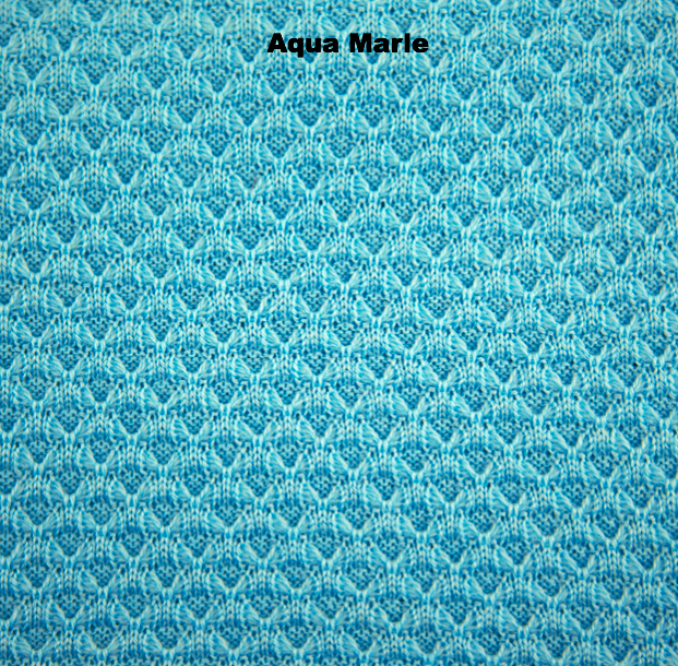 BLANKETS - WOVEN - KNIT BLANKETS - Aqua Marle - Extra Small