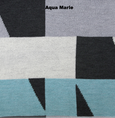BLANKETS - MY WAY - THROWS & BLANKETS - Aqua Marle - Extra Small