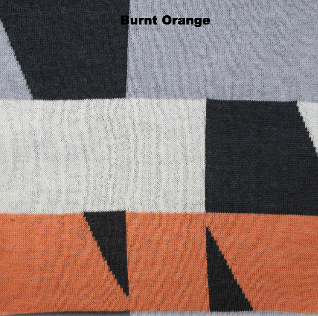 BLANKETS - MY WAY - THROWS & BLANKETS - Burnt Orange - Extra Small
