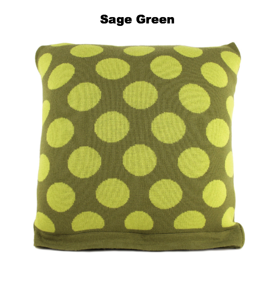 CUSHIONS COVER - BRAD CUSHIONS - MERINO - Sage Green Medium - Breakfast