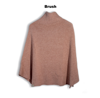 PONCHOS - AMELIE - LAMBSWOOL - Brush -