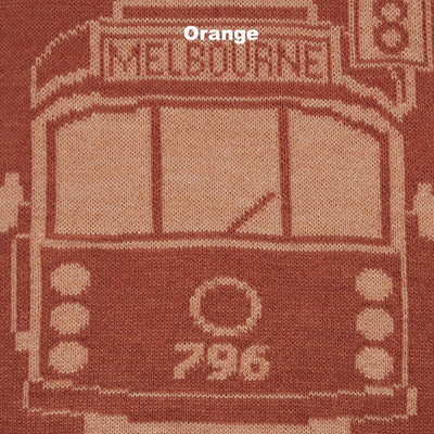 SCARVES - TRAM I AM - MERINO - Orange -