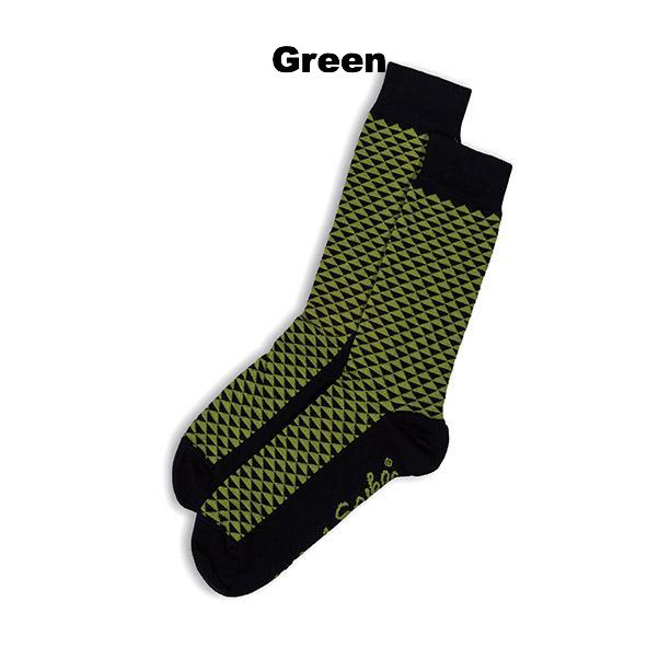 SOCKS - DOUBLE NEGATIVE - AUSTRALIAN COTTON - 2-8 - Green