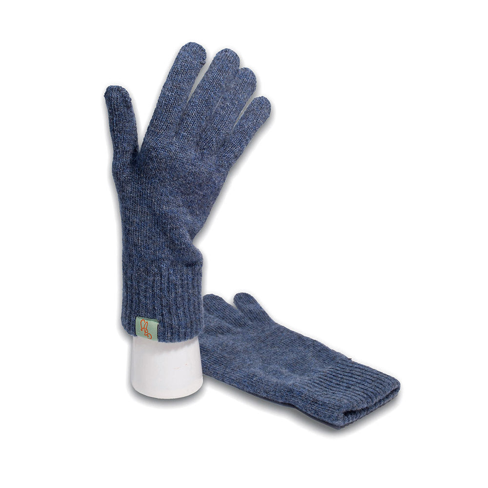 GLOVES - GLOVE - LAMBSWOOL - Denim / Main Image -