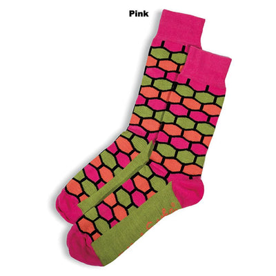 SOCKS - HONEY BUNNY - AUSTRALIAN COTTON - Pink - 2-8