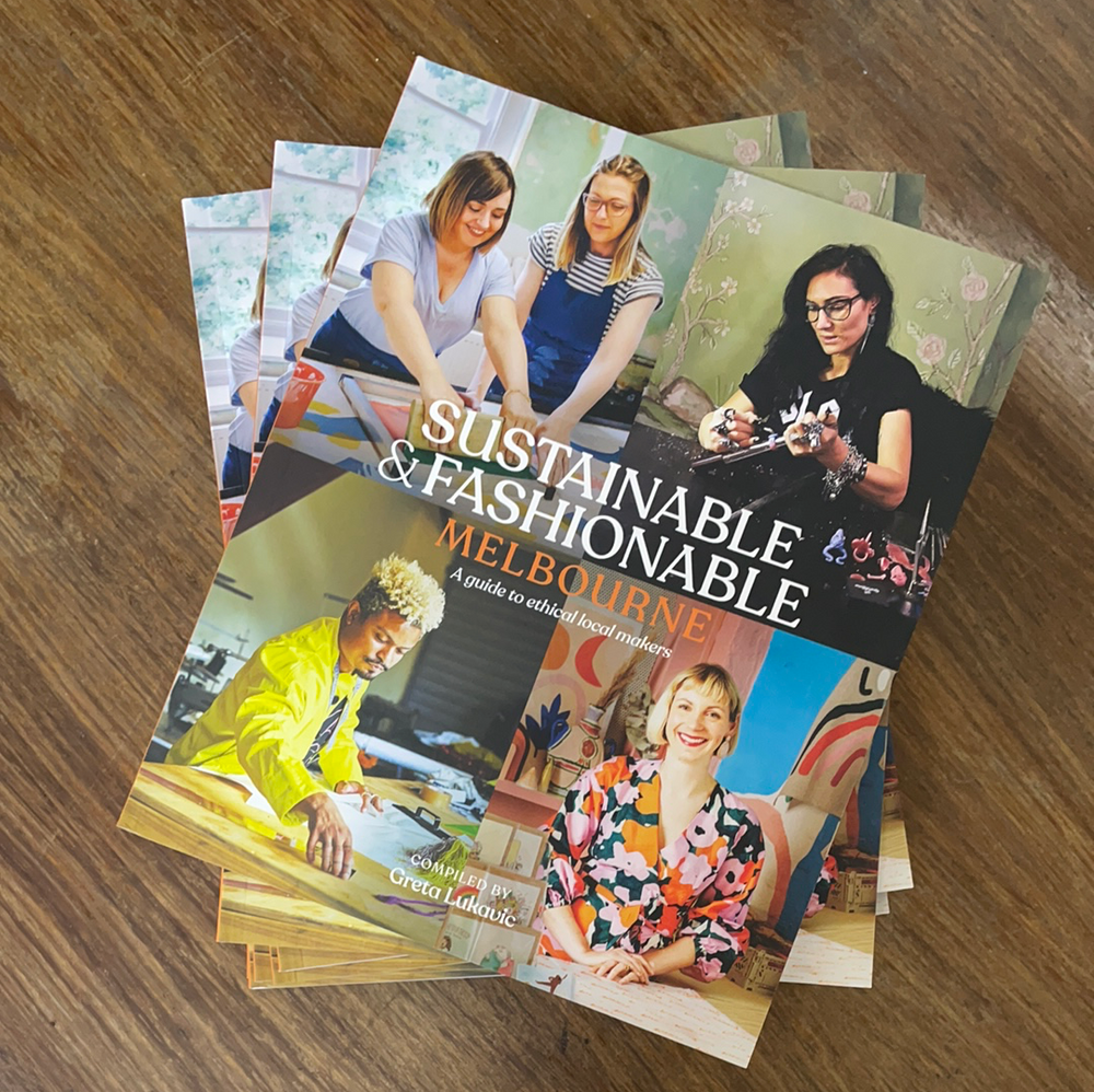 Sustainable & Fashionable Melbourne book -  -