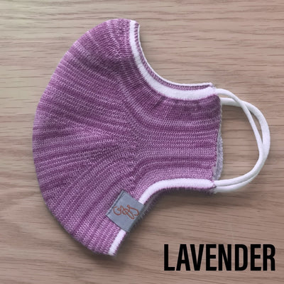 Deluxe Face Mask - REUSABLE - WASHABLE - LAVENDER - 1 MASK